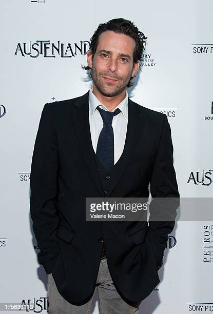 James Callis arrives at the Premiere Of Sony Pictures Classics' Austenland at ArcLight Hollywood on August 8 2013 in Hollywood California