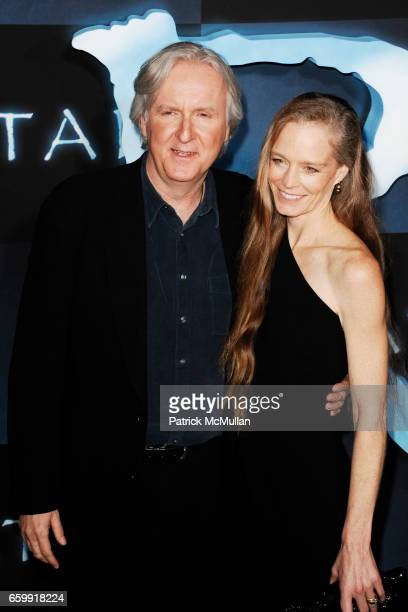 James Cameron and Suzy Amis attend The Los Angeles Premiere of AVATAR at Grauman's Chinese Theatre on December 16, 2009 in Hollywood, California.