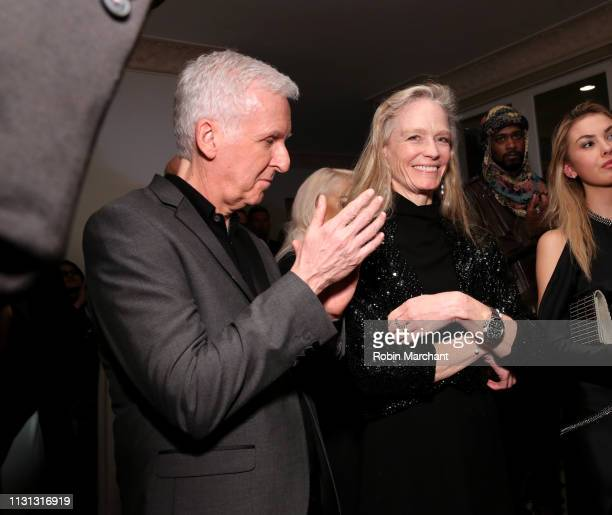 James Cameron and Suzy Amis Cameron attend Suzy Amis Cameron's 10-Year Anniversary Of RCGD Celebration on February 21, 2019 in Beverly Hills,...