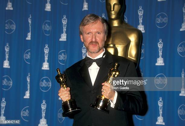 James Cameron at the 70th Annual Academy Awards, Shrine Auditorium, Los Angeles.