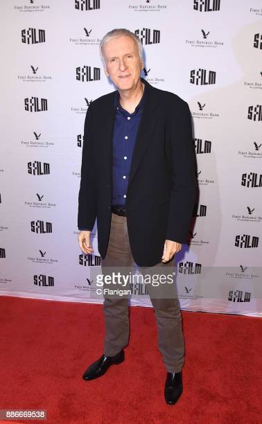 James Cameron attends SFFILM's 60th Anniversary Awards Night at Palace of Fine Arts Theatre on December 5 2017 in San Francisco California