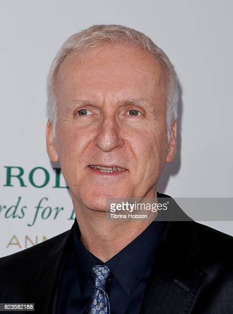James Cameron attends the 40th Anniversary of Rolex Awards for Enterprise at Dolby Theatre on November 15 2016 in Hollywood California