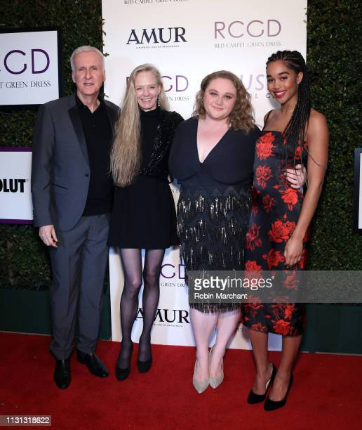 James Cameron, Suzy Amis Cameron, Danielle Macdonald, and Laura Harrier attend Suzy Amis Cameron's 10-Year Anniversary Of RCGD Celebration on...