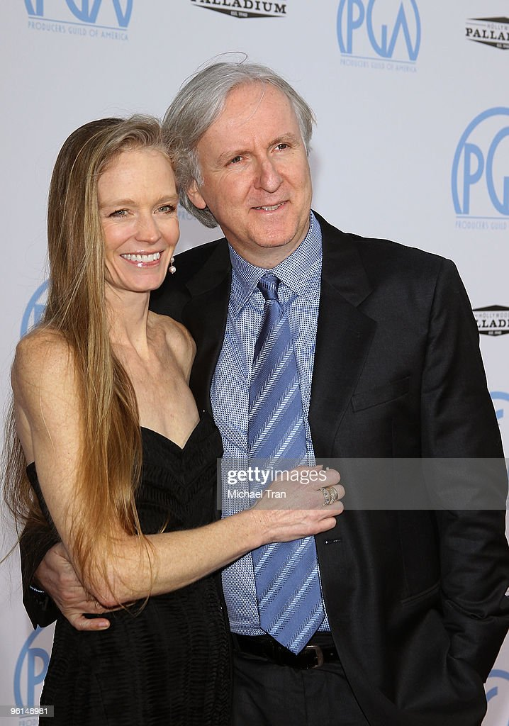 James Cameron (R) with wife, Suzy arrive to the 21st Annual PGA Awards held at the Hollywood Palladium on January 24, 2010 in Hollywood, California.
