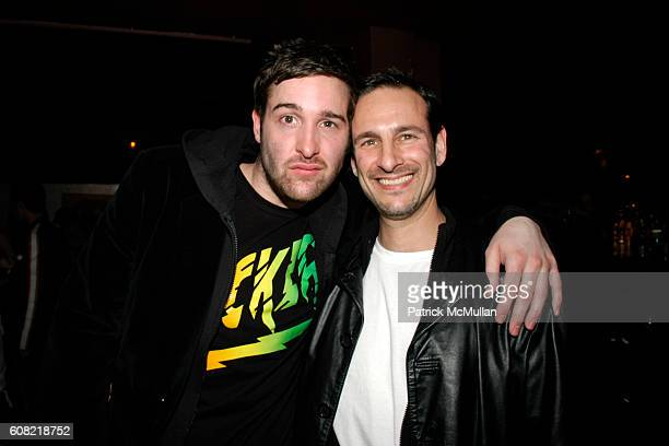 James Camp and David Schlachet attend MONDAYS HARD and the premiere of MANIKIN MONDAYS at The Plumm on April 16 2007 in New York City