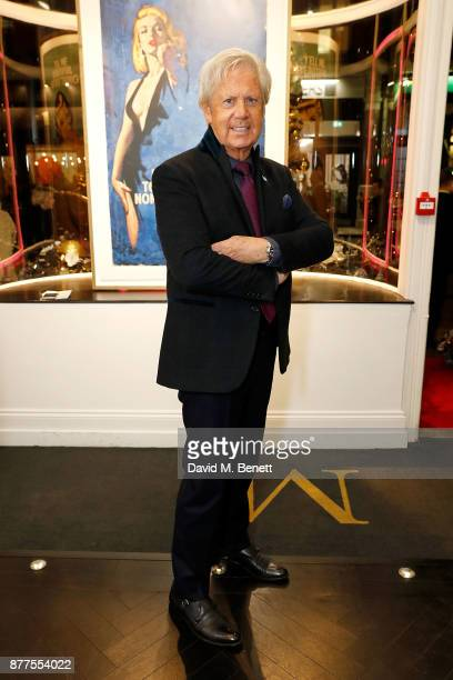 James Campbell attends an intimate VIP private view for The Connor Brothers with catering by Michelin Starred chef Tom Sellers at Maddox Gallery on...