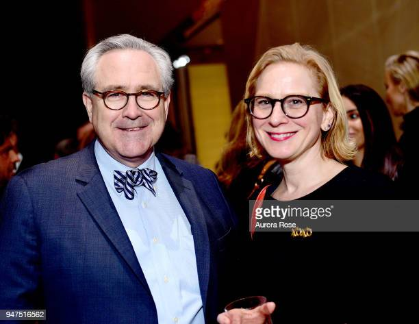 James Carolan and Anastasia Tonello attend Launch Of New Entity Withers Global Advisors at 432 Park Avenue on April 3 2018 in New York City James...