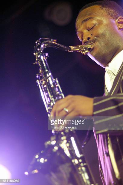 James Carter, tenor saxophone, performs at the North Sea Jazz Festival on July 10th 2004 in Amsterdam, the Netherlands.