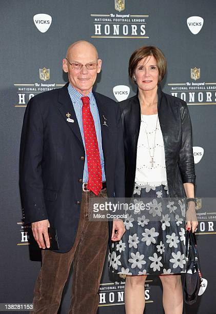 James Carville and Mary Matalin attend NFL Honors And Pepsi Rookie Of The Year at Murat Theatre on February 4 2012 in Indianapolis Indiana