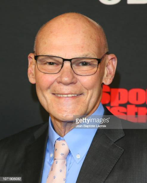 James Carville attends Sports Illustrated Sportsperson of The Year Awards held at The Beverly Hilton Hotel on December 11 2018 in Beverly Hills...