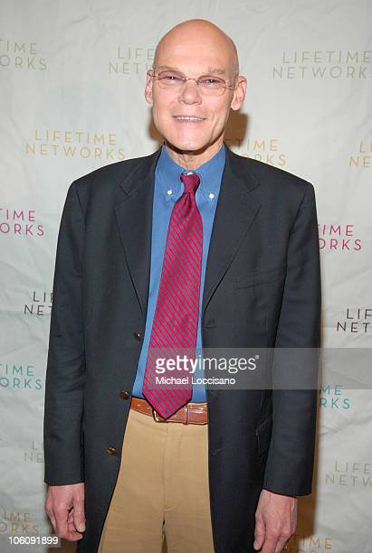 James Carville during Lifetime Television's Upfront Presentation March 21 2006 at Grand Hyatt Hotel 42nd Street in New York City New York United...