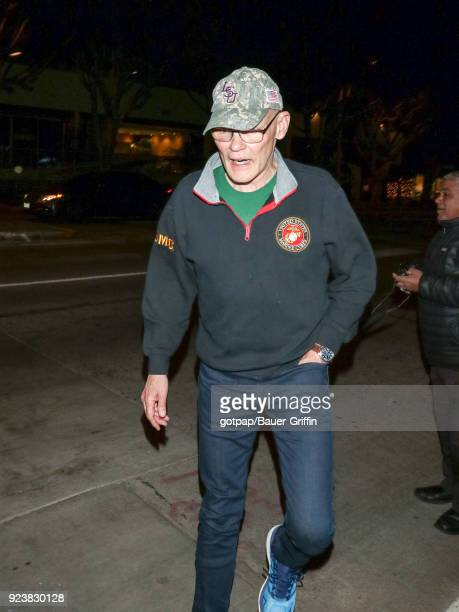 James Carville is seen on February 23 2018 in Los Angeles California