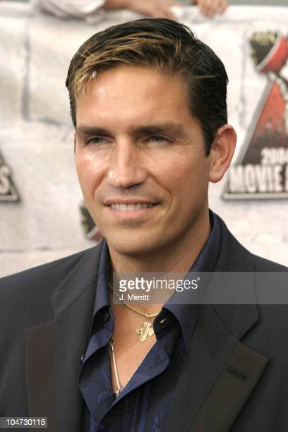 James Caviezel during 2004 MTV Movie Awards Arrivals at Sony Pictures Studios in Culver City CA United States
