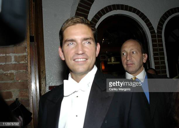 James Caviezel during 'Bobby Jones Stroke of Genius' New York Premiere After Party at Tavern on the Green in New York City New York United States