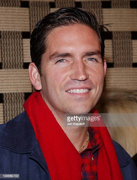 James Caviezel during 'Hotel Rwanda' Los Angeles Premiere Arrivals at Academy Theatre in Beverly Hills California United States