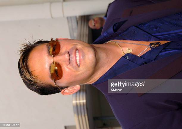 James Caviezel during MTV Movie Awards 2004 Backstage and Audience at Sony Pictures Studios in Culver City California United States