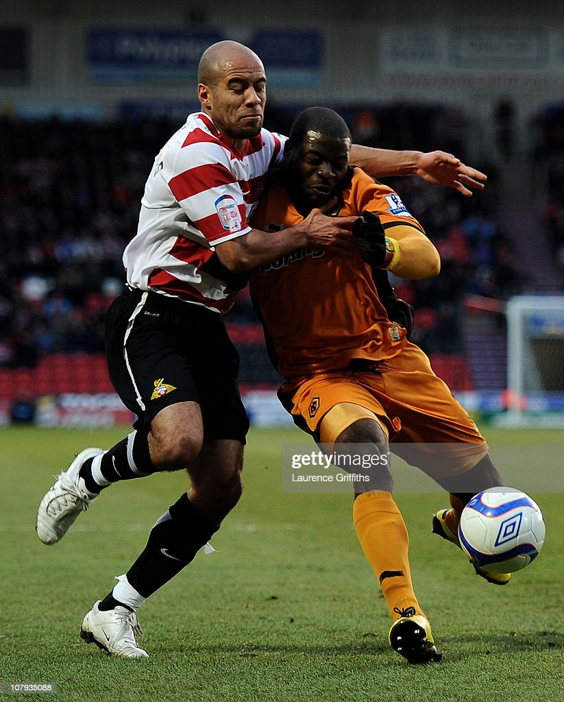 Doncaster Rovers v Wolverhampton Wanderers - FA Cup 3rd Round