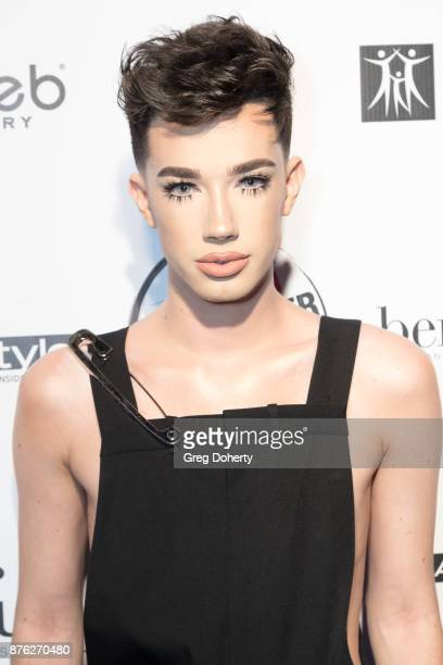 James Charles attend the American Influencer Award at The Novo by Microsoft on November 18 2017 in Los Angeles California