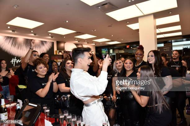 James Charles attends his Morphe Meet Greet at Roosevelt Field Mall on December 1 2018 in Garden City New York