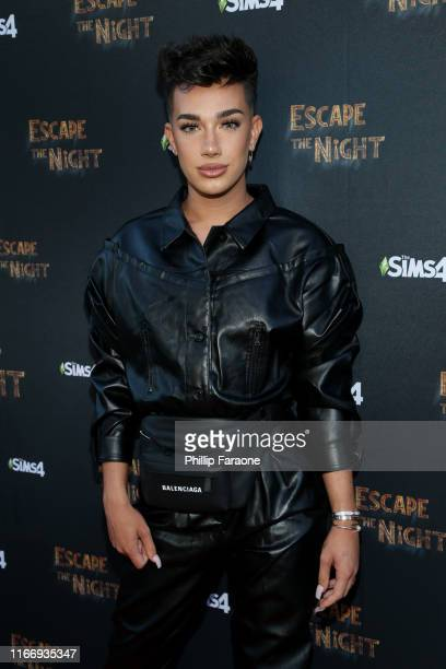 """James Charles attends Joey Graceffa's YouTube Original Series """"Escape The Night"""" VIP Escape Room Experience at UTA on August 08, 2019 in Beverly..."""