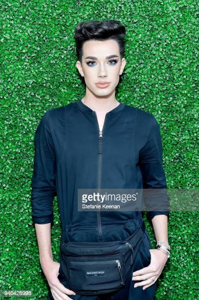 James Charles attends KKWxMario Dinner at JeanGeorges Beverly Hills on March 31 2018 in Beverly Hills California