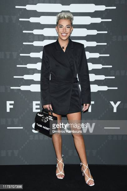 James Charles attends Savage X Fenty Show Presented By Amazon Prime Video Arrivals at Barclays Center on September 10 2019 in Brooklyn New York