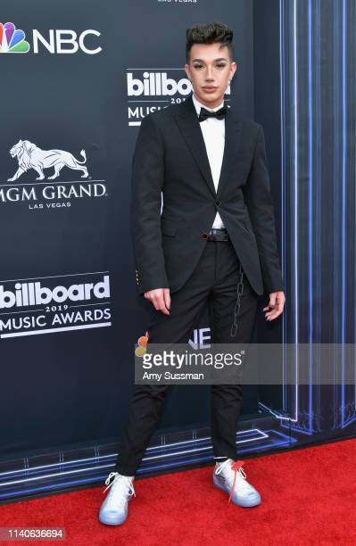 James Charles attends the 2019 Billboard Music Awards at MGM Grand Garden Arena on May 1, 2019 in Las Vegas, Nevada.