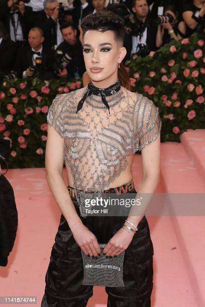 James Charles attends the 2019 Met Gala celebrating Camp Notes on Fashion at The Metropolitan Museum of Art on May 6 2019 in New York City