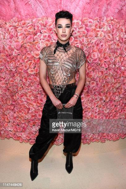 James Charles attends The 2019 Met Gala Celebrating Camp Notes on Fashion at Metropolitan Museum of Art on May 06 2019 in New York City