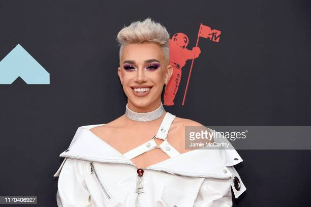 James Charles attends the 2019 MTV Video Music Awards at Prudential Center on August 26 2019 in Newark New Jersey