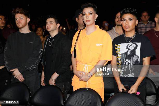 James Charles attends the 963 Mega FM Calibash 2020 at Staples Center on January 11 2020 in Los Angeles California