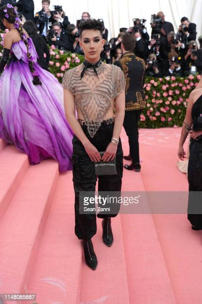 James Charles attends The Metropolitan Museum Of Art's 2019 Costume Institute Benefit Camp Notes On Fashion at Metropolitan Museum of Art on May 6...