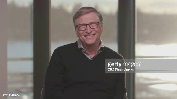 James chats with Bill Gates on THE LATE LATE SHOW WITH JAMES CORDEN, scheduled to air Wednesday October 21, 2020 on the CBS Television Network. Image...