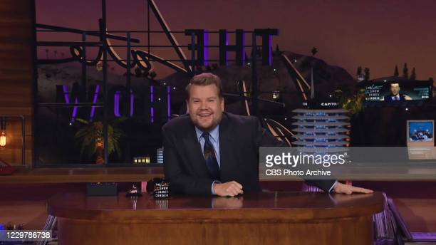 James chats with Goldie Hawn and Kurt Russell on THE LATE LATE SHOW WITH JAMES CORDEN, scheduled to air Tuesday, November 24, 2020 on the CBS...
