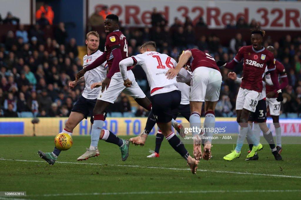 Aston Villa v Bolton Wanderers - Sky Bet Championship : News Photo