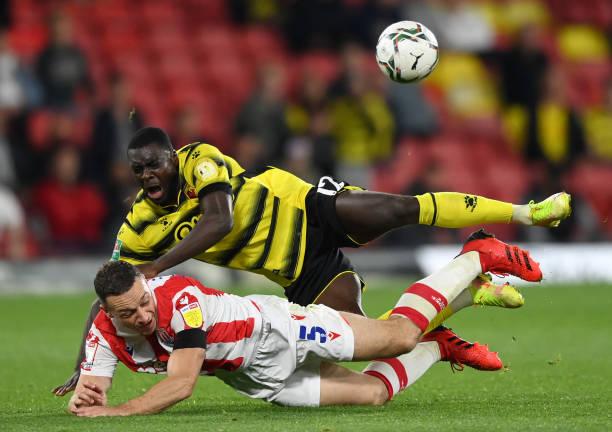 GBR: Watford v Stoke City - Carabao Cup Third Round