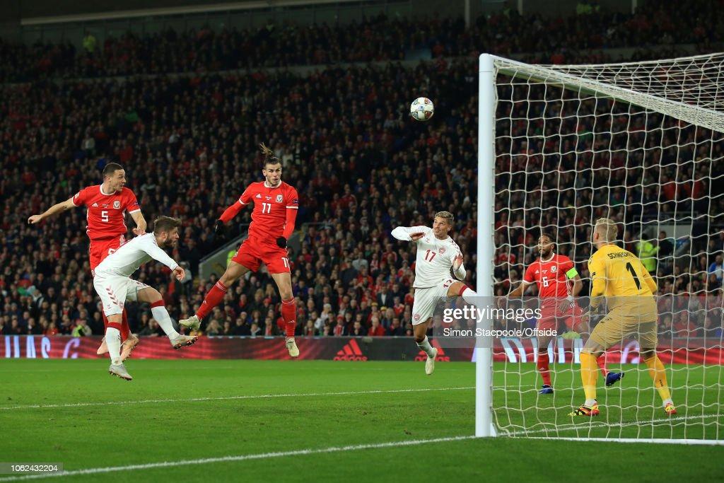 Wales v Denmark - UEFA Nations League B : News Photo