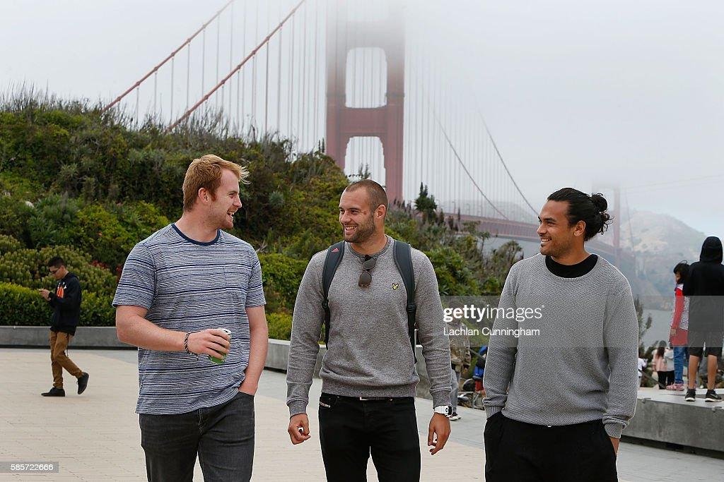 Harlequins Tour to San Francisco : News Photo