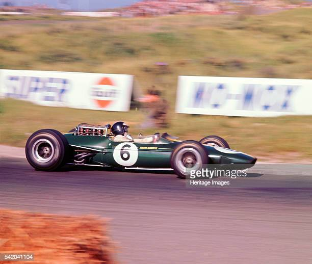 James Clark driving a 1966 Lotus 33 Climax V8