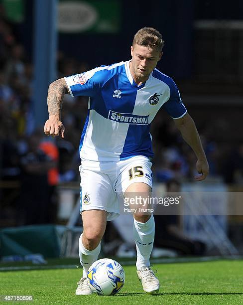 James Clarke of Bristol Rovers during the Sky Bet League Two between Bristol Rovers and Oxford United at Memorial Stadium on September 6 2015 in...