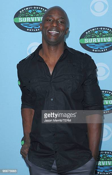 James Clement arrives at the CBS Survivor 10 Year Anniversary Party on January 9 2010 in Los Angeles California