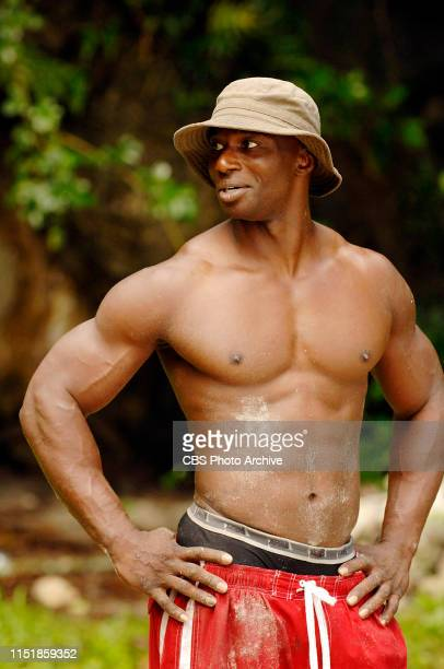 James Clement during the first episode of Survivor Micronesia Fans vs Favorites