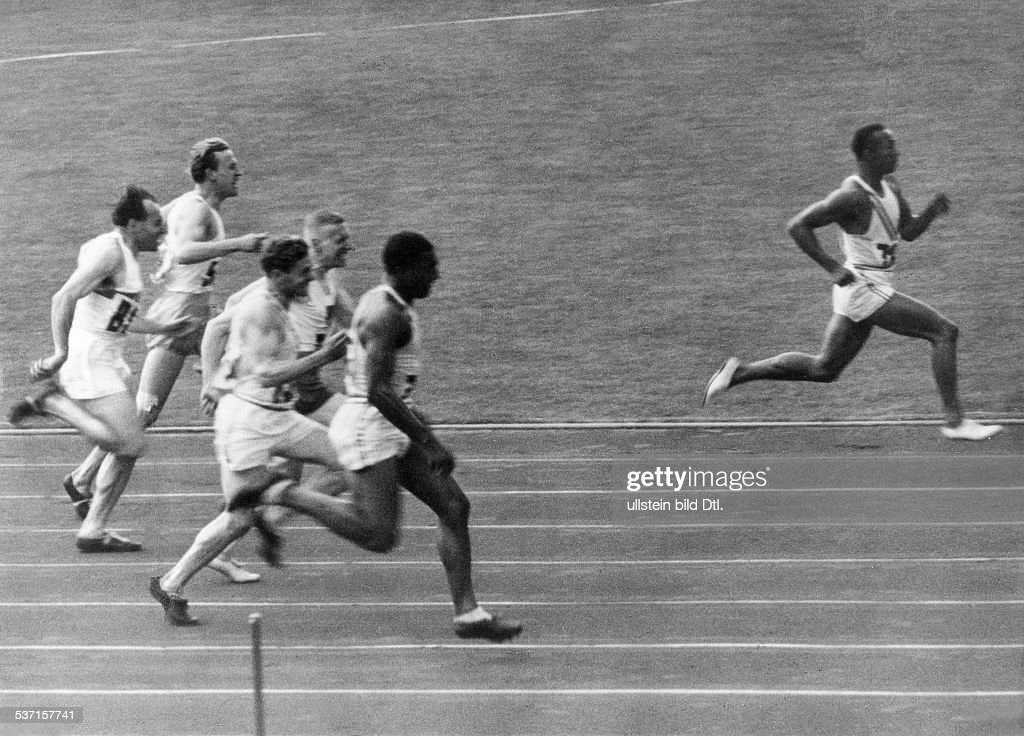 On This Day: August 3 - Jesse Owens Wins 100m Gold At 1936 Berlin Olympics