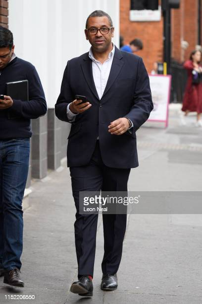 James Cleverly the Conservative MP for Braintree is seen in Westminster on May 28 2019 in London England As more MPs enter the race to become the...