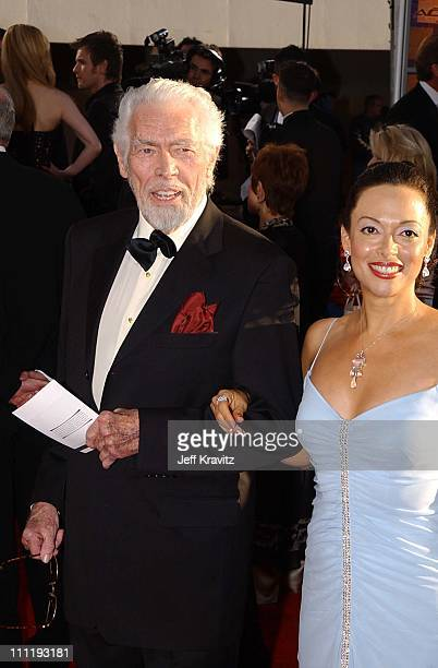 James Coburn at the Golden Globes Awards in Beverly Hills CA on 2/20/02 Photo by Jeff Kravitz/Film Magic 310 450 6988