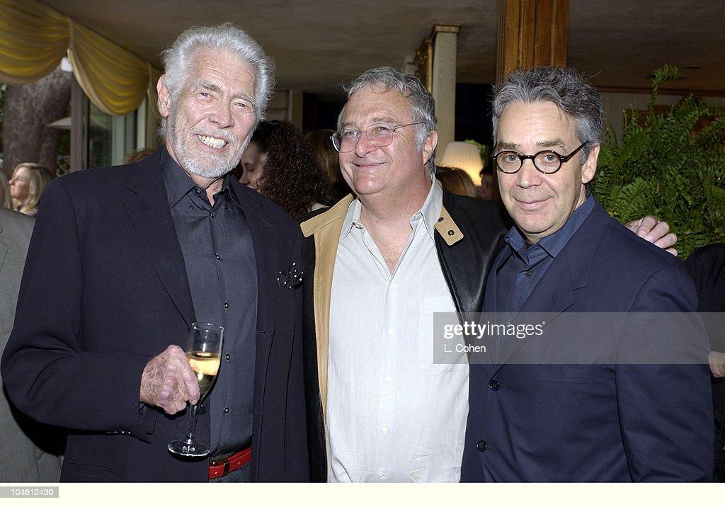 James Coburn with Oscar nominees Randy Newman & Howard Shore