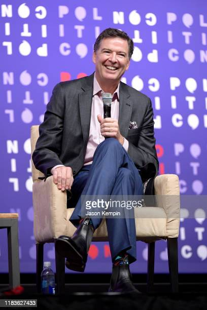 James Comey speaks onstage during the 2019 Politicon at Music City Center on October 26 2019 in Nashville Tennessee