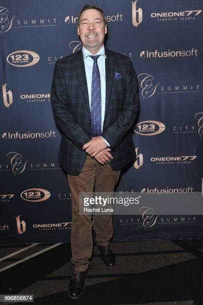 James Conaway of CC Wealth Strategies attends City Summit Wealth Mastery And Mindset Edition afterparty at Allure Banquet Catering on July 11 2018 in...