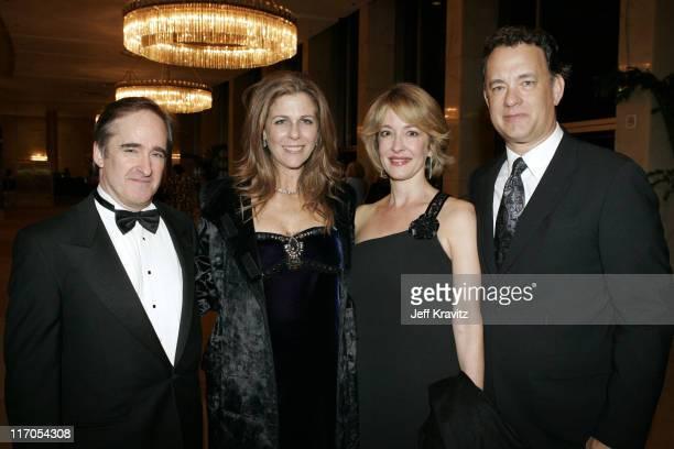 James Conlon Rita Wilson Jennifer Conlon and Tom Hanks