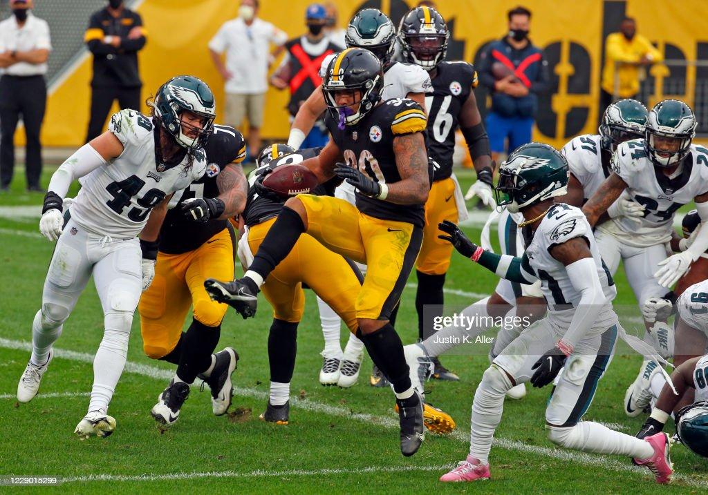 Philadelphia Eagles v Pittsburgh Steelers : ニュース写真